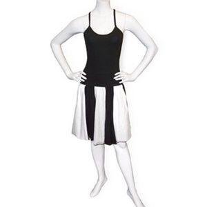 Noelle Black & White Dress